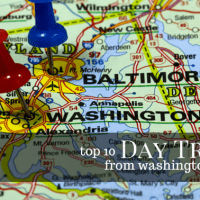 TOP 10 Day Trips from WASHINGTON, D.C.